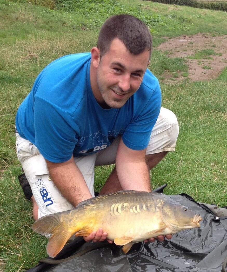 Jon Jackson with a fine carp