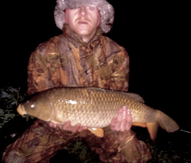 Large carp caught at the Elton lakes