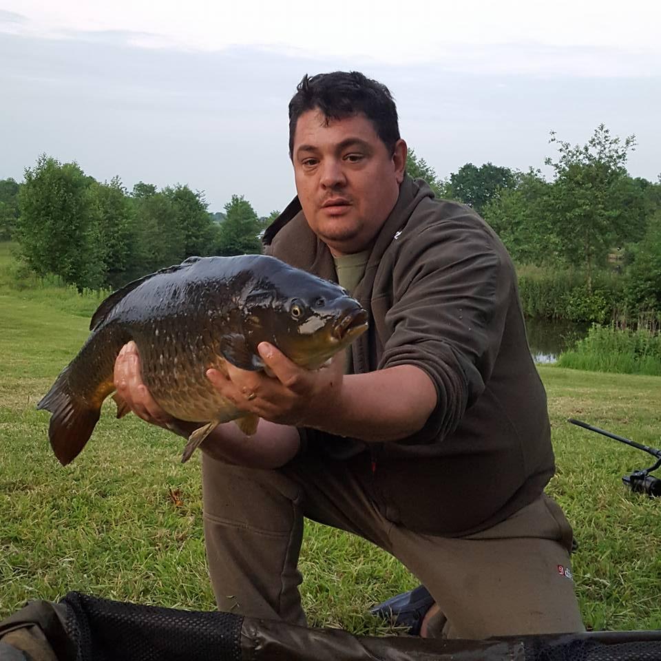 A photo of Ian Gupta at Elton Carp Lakes