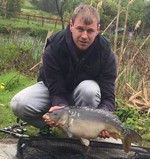A photo of Andrew Pearce with a lower double caught on May 2nd.