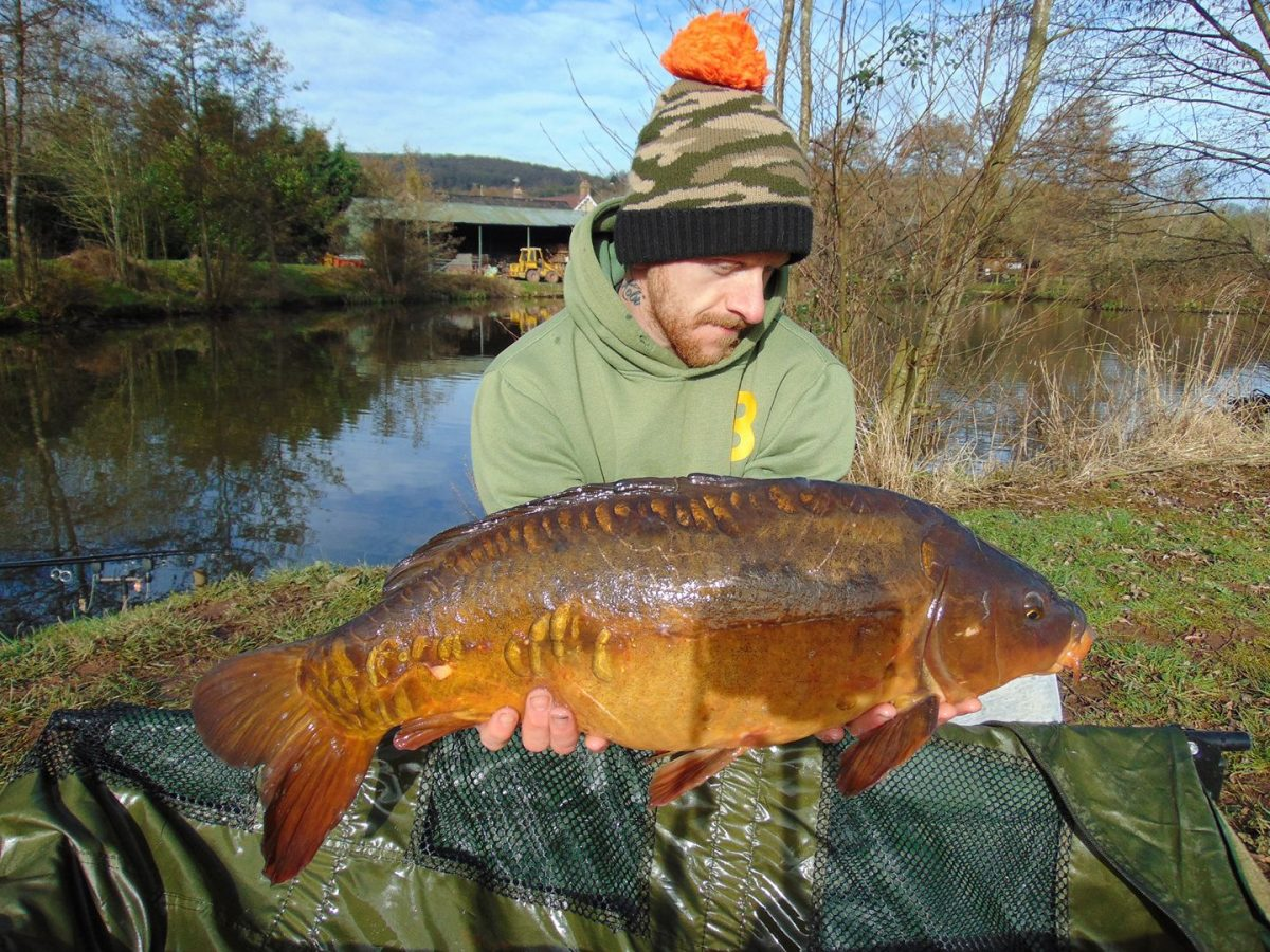 A photo of Mark Fenemore with a stunner on 7th March
